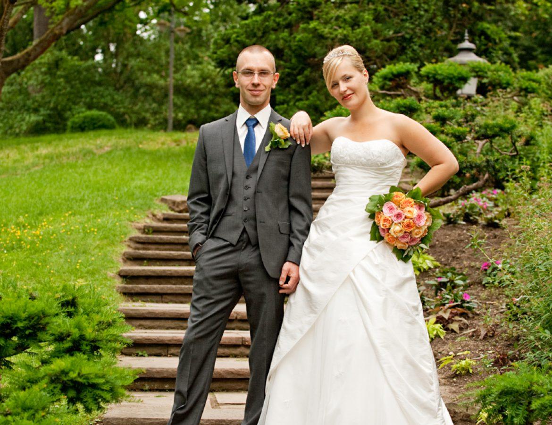 Hochzeit Brautpaar Portrait foto 22