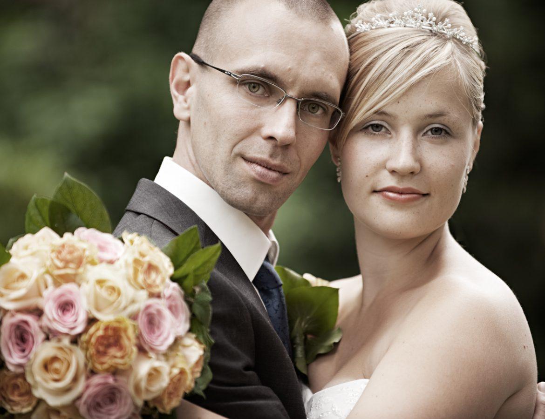 Hochzeit Brautpaar Portrait foto 23