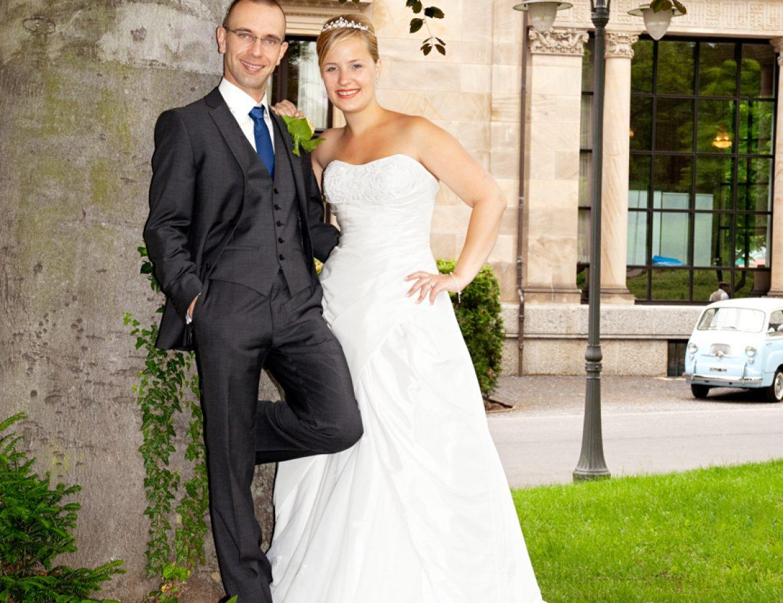 Hochzeit Brautpaar Portrait foto 24