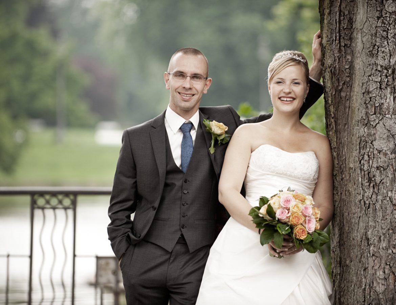 Hochzeit Brautpaar Portrait foto 25