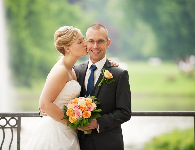 Hochzeit Brautpaar Portrait foto 26
