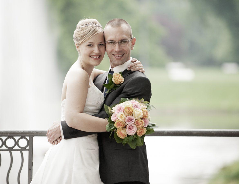 Hochzeit Brautpaar Portrait foto 27