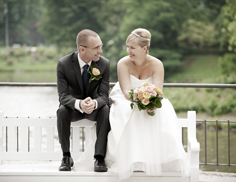 Hochzeit Brautpaar Portrait foto 28